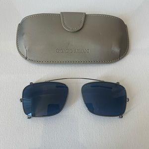 Giorgio Armani sunglass clip-on